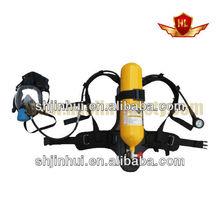 protección respiratoria fire escape de aire portátil de un aparato de respiración hecho en china