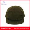 OEM High Quanlity Blank 5 Panel Camp Cap/Green Camper Cap with OEM Logo/Custom Hat and Cap