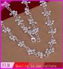Fashion chunky fashion silver bead pendant necklace