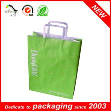 Lingerie flat handle kraft paper bag manufacturers, suppliers, exporters