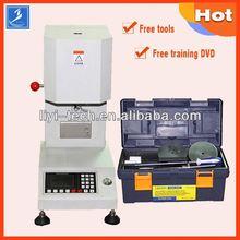 thermoplastics plastics melt index tester