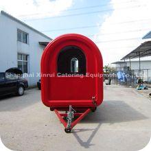 2014 New Style Mobile Welding Food Grade Stainless Steel Transportation Trailer XR-FC250 B