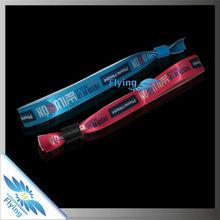 fashion *music festival 2015 wristband,woven bracelet,silicone wristband