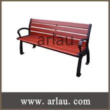 Outdoor Garden Cast Iron Legs Wooden Benches (FW36)