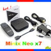 Android 4.2 Tv Box Full Hd Media Player Minix Neo X7 Mini