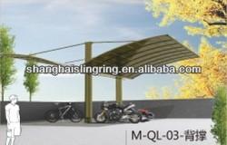Gardon / street use 2 cars parking canopy designs