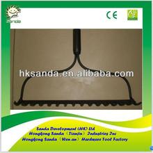 bow steel rake