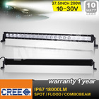 New 37.5inch 200w cree led light bar, 10w Cree led light for off road 4wd atv truck ute use