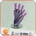 다른 모양 다마스커스 강철 나이프 만들기( kn12291)