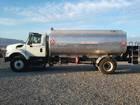 2011/2012 4,000 Gallon Fuel Trucks Ground Product