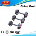 2014 acier rail minière roues pour gros hot - vente directe d'usine