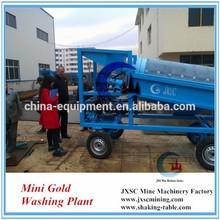 mini washing trommel portable washing machine for gold recovery