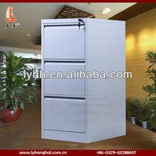 Practical standard size steel 3 drawer metal file cabinet,metalic filing cabinet drawers