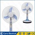 Mesa ventilador recargable de 12V , 14/ 16 plugadas ventilador portátil recargable con luz