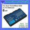 batería del ordenador portátil para acer extensa 5330 5420g 5630
