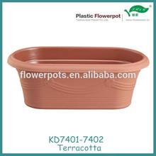 KD7401-7402 plastic pot garden planter