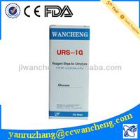 vials of 100 strips urine glucose test strips