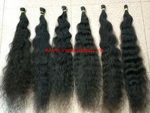 100% Virgin Pre Bonded I Tip Wavy Hair