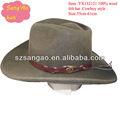 de alta qualidade marrom grande chapéu de cowboy