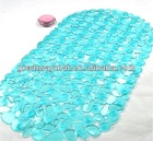 colorful pvc bath tube mat