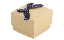 Brown nature kraft gift boxes wholesale with lid