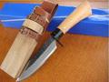 meilleure vente oem japonais fait main couteau de chasse avec poignée en bois couteau udtek00597