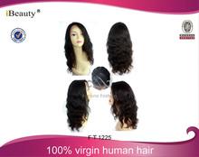Natural Looking 100% human hair wig for black women