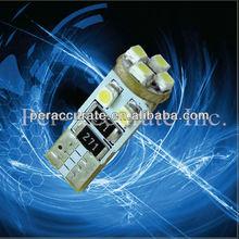TOP Sale led car light 8 smd 3528 T10 white 12v 24v atv accesories