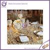 #19784 gold elegant fancy disposable chameleon taffeta embroidery cutwork elegant wholesale decorative vinyl tablecloths