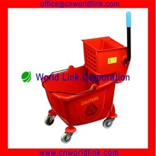 36L Plastic Cleaning Mop Water Buckets