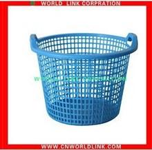 double handle plastic laundry basket