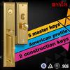Fire Resistant Door Handles and Locks Guard Security Lock Safe Lock