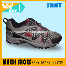 2015 China Hot Selling Multicolor Wear Resistant Hiking Running Shoe for Men