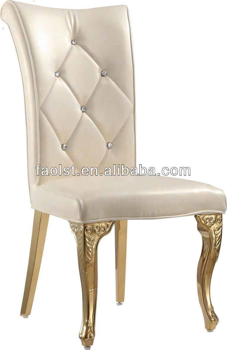 Luxe dor salle manger chaises foshan chaises modernes for Chaise de salle a manger de luxe