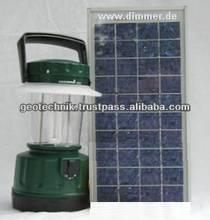 Mobile Solar Light 5 or 7W - GEO Technik Germany