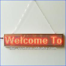 LED Scrolling Message Display For Advertising 12 V