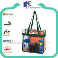 Wellpromotion high quality clear pvc handbag