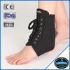 Samderson medical grade black lace ankle support, Ankle Brace with Removable Splints