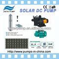 12v, 24v dc solar sumergible bombas de agua