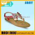 2013 novo modelo barato da senhora moda sandálias com arco