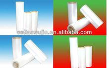 Plastic PE heat shrink bottle packaging film in roll
