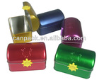 Wholesales game box,lid embossed tin box , FDA/LFGB tested metal tin