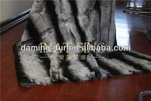 hot sale chinchilla fur bedding set