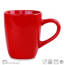 16oz plain ceramic christmas mug orange stoneware coffee mug chinese manufacturing