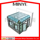 high quality tempered glazed aluminum sun room/sunrooms/outdoor glass room