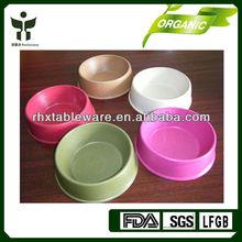 bamboo pet water bowl