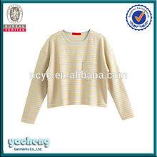 newest style fashion fishing t-shirtchina manufactory girls stylish t-shirt