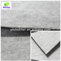 Aguja de poliéster fieltro de carbono mezclado anti- acondicionador de aire de tela de fieltro
