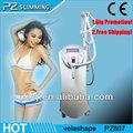 Grande promoção! Super eficaz velashape slimming do corpo com três alças uso salão pz807( quente nos eua, a áfrica do sul)