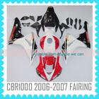for CBR1000 06-07 ABS Injection molding Fairing Body Kit cbr1000rr 2006 2007 fairing kit